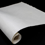 Gampi Paper with Pearl and Fibers - IVORY - 120GSM
