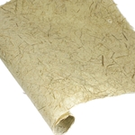 Gampi Paper with Cogongrass and Fibers - NATURAL GREEN - 120GSM