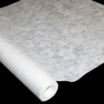 "Korean Hanji Paper Roll - 20GSM - Watermark Tissue - FLOWER WITH STEM - 25"" x 65'"