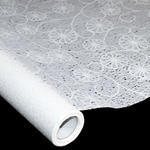 "Korean Hanji Paper Roll - 30GSM - Watermark Tissue - RAINFALL FLOWER - 47"" x 65'"