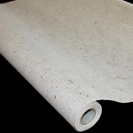 Korean Hanji Paper Roll - 35GSM - NATURAL WITH INCLUSIONS