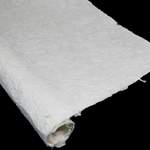 Large Format Textured Mulberry Paper - NATURAL WHITE -110GSM