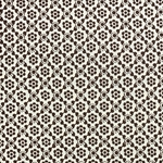 Italian Carta Varese Paper - Dot Flower - BROWN