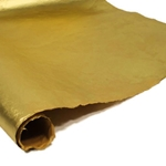 Handmade Metallic Mulberry Paper - GOLD