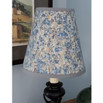 ITALIAN MARBLED LAMPSHADE