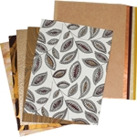 Assorted Fall Paper Pack (15 Sheets)