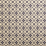 Italian Carta Varese Paper - Small Flowers - BLUE