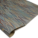 Brazilian Marbled Paper - NONPAREIL WITH SPOTS - Multicolor
