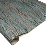 Brazilian Marbled Paper - NONPAREIL - Blue/Brown