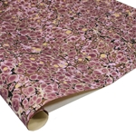 Brazilian Marbled Paper - FRENCH SHELL - Magenta