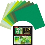 Tant Origami Paper Pack - GREENS