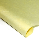 Thai Unryu/Mulberry Paper - YELLOW CHIFFON