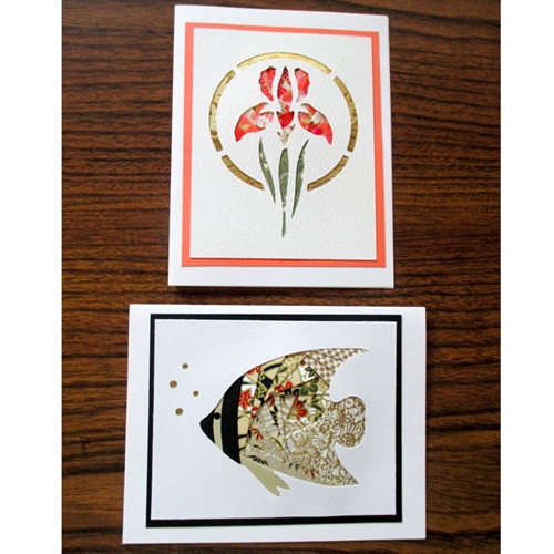 Iris Folding Notecards