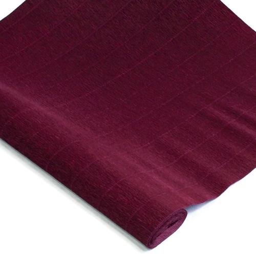Crepe Paper Roll Burgundy Red Premium Italian 90 g Crepe Paper