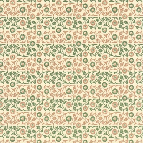 Green and Brown Harlequin Italian Decorative Paper Carta Varese