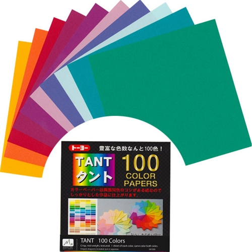 Tant Origami Paper Pack Greens