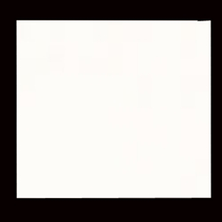 Solid Color Origami Paper- WHITE 6""