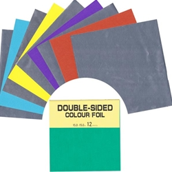 Double Side Foil/Solid Color Origami Paper 5 7/8""