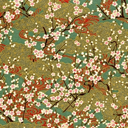 Japanese Chiyogami Yuzen Paper - BLOOMING GROVE