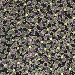 "Chiyogami Yuzen Origami Paper Pack 6"" x 6"" Sheets (4 Pack) - PURPLE PASSION"