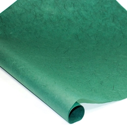 Thai Unryu/Mulberry Paper Roll - BLUE GREEN