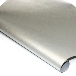 Metallic Mulberry Paper - SILVER