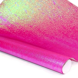 Iridescent Paper - HOT PINK