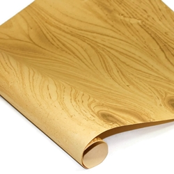 Marbled Indian Cotton Rag Paper - GOLD