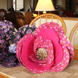 GIANT PAPER FLOWER CENTERPIECE