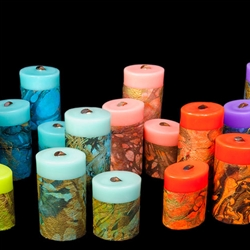 MARBLED MOMI CANDLES