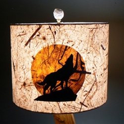 WOLF MOON LAMPSHADE