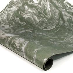 Marbled Nepalese Lokta Paper Silver Slate