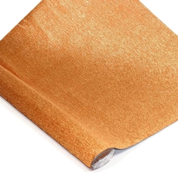 Italian Crepe Paper - COPPER METALLIC