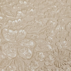 Indian Embossed Paper - ROSE - IVORY