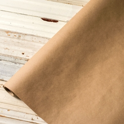 Paper Table Runner Roll - BROWN KRAFT - 30 Inches x 25 Feet