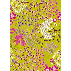 Decopatch Decoupage Paper - Blossom - GREEN/PINK