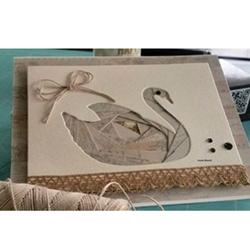 Swan Iris Folding