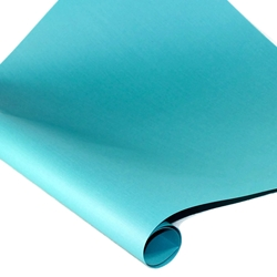 Linen Washi Paper - TURQUOISE BLUE