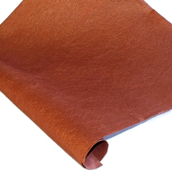 Indian Cotton Rag Paper - Crinkle - BROWN SPARKLE