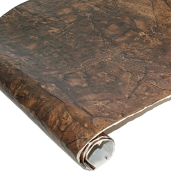 Nepalese Lokta Paper - Leather - RUSTIC BROWN