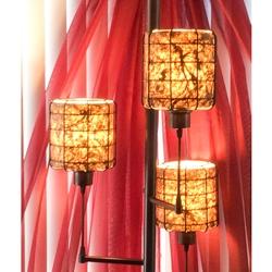 Bark Paper Lamps