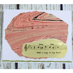 Music Note Card