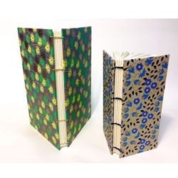 HAND-BOUND COPTIC STITCH BOOKS