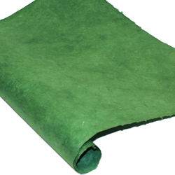Heavy Weight Nepalese Lokta Paper - FOREST GREEN