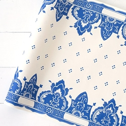 Paper Table Runner Roll - CHINA BLUE - 20 Inches x 25 Feet