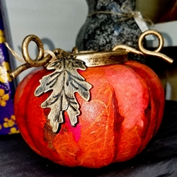Pumpkin Candle Cover