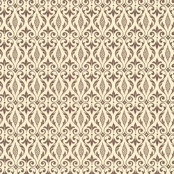 Italian Carta Varese Paper - DAMASK - Brown