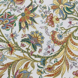 Italian Marble Paper - GILDED BLOSSOMS