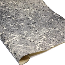 Italian Marbled Paper - STONE - Black/White/Gray
