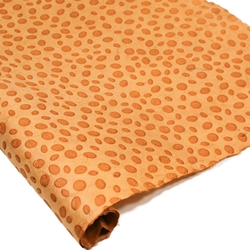 Embossed Nepalese Lokta Paper - Dots - CLAY